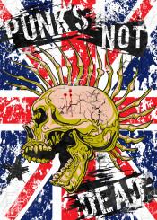 punk graphic skull