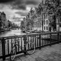 AMSTERDAM Emperors Canal and Bicycle