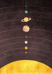 outer space planet stars mercury venus earth mars jupiter saturn uranus neptune orbit sun science