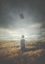 boy field surreal dream child window weird nostalgic melancholic alien grass
