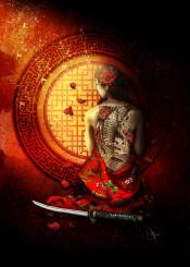 memories geisha katana