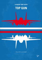 minimal minimalism minimalist movie poster chungkong film artwork top gun tony scott topgun
