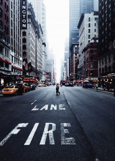 Photography nyc manhattan Displate Prints on Steel