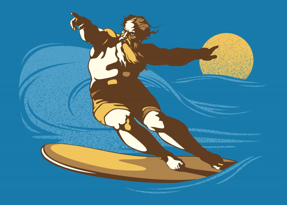 God Surfed 128926
