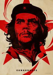 che guevara cheguevara revolution cuba vector portrait poster