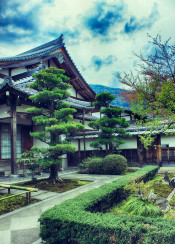 beautiful nice temple kyoto