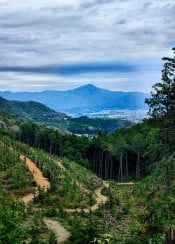 kyoto panorama hills hill hdr nature photo japan incredible amazing