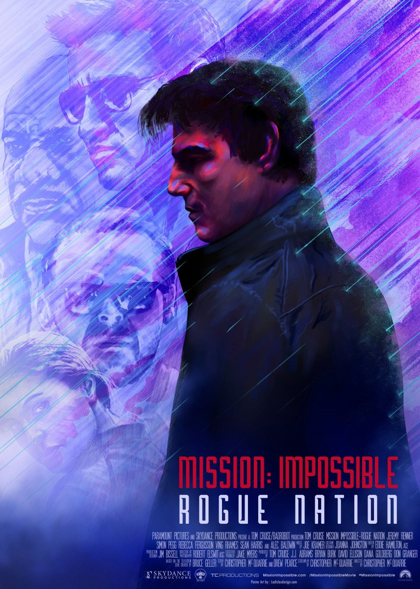 Mission Impossible: Rogue Nation This poster is my graphic tribute to t 130624