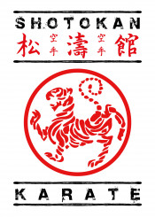 karate shotokan martialarts fighter tiger japanese