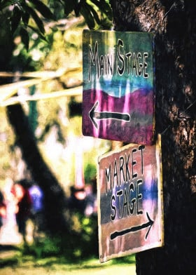 signs signage festivals market directions where photoart photography arrows thisway thatway wheretonow outdoors nature signpost psytrance dancing