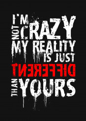 typography typo crazy text different unique my reality grunge simple
