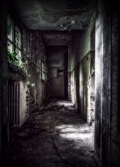 asylum urbex abandoned scary horror mood