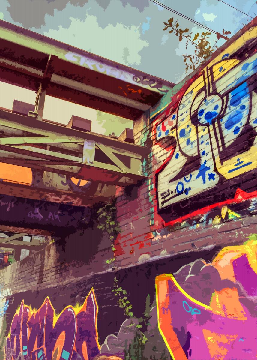 Graffiti Bridge 134122