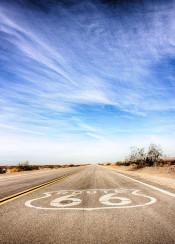 route 66 california usa road sky hdr photo beautiful