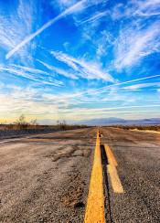 route 66 road california mojave sunrise sunset hdr photo amazing beautiful usa