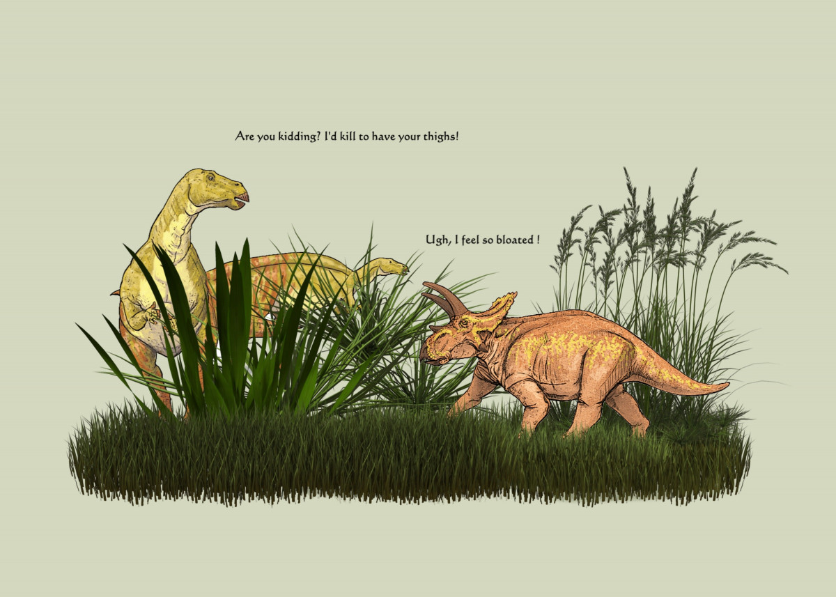 "KILLER FIGURE BY GASPONCE - Imagine dinosaurs having ""figure"" problem 135116"