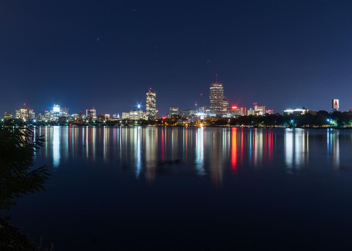 Boston as seen from Cambridge 135092