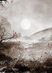 landscape painting digital