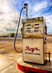 roys gasoline route 66 amazing wasteland gas station