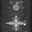 Alternating Electric Current Generator - Patent by N. Tesla - 1891