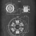 Alternating Motor - Patent by N. Tesla - 1896