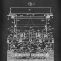 Type Writing Machine - Patent by T. Cahill - 1900