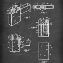 Pocket Lighter (Zippo) - Patent by G Gimera (et al) - 1936