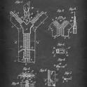 Separable Fastener (Zipper) - Patent by G. Sundback - 1917