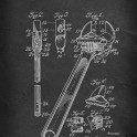 Wrench - Patent by E. Peterson - 1915