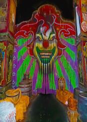 clown scary horror jack haloween teeth