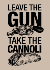 godfather movie quote food cannoli gun offer