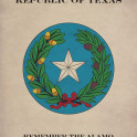 The Coat of Arms of the Republic of Texas.