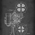 Motion Picture Projector for Sound Motion Pictures - Patent #2,050,494 by T. Lindenberg Jr. - 1936