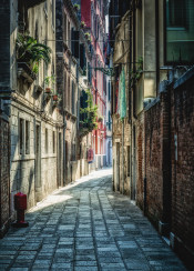 venice italy street view cityscape architecture buildings