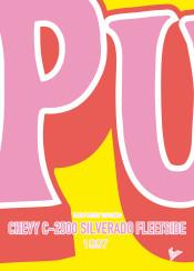minimal minimalism minimalist famous car striping colors chungkong kill bill chevy silverado yellow fleetside 1997 pussy wagon