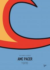 minimal minimalism minimalist famous car striping colors chungkong waynes world amc pacer 1976 mirth mobile