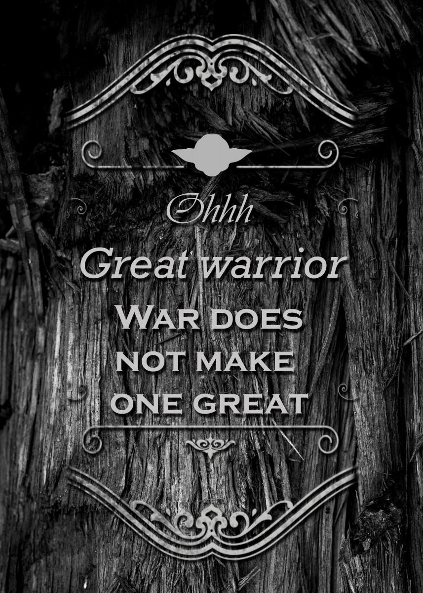 Great Warrior Yoda