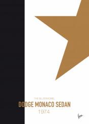 minimal minimalism minimalist famous car striping colors movie chungkong 1974 bluesmobiel dodge monaco sedan