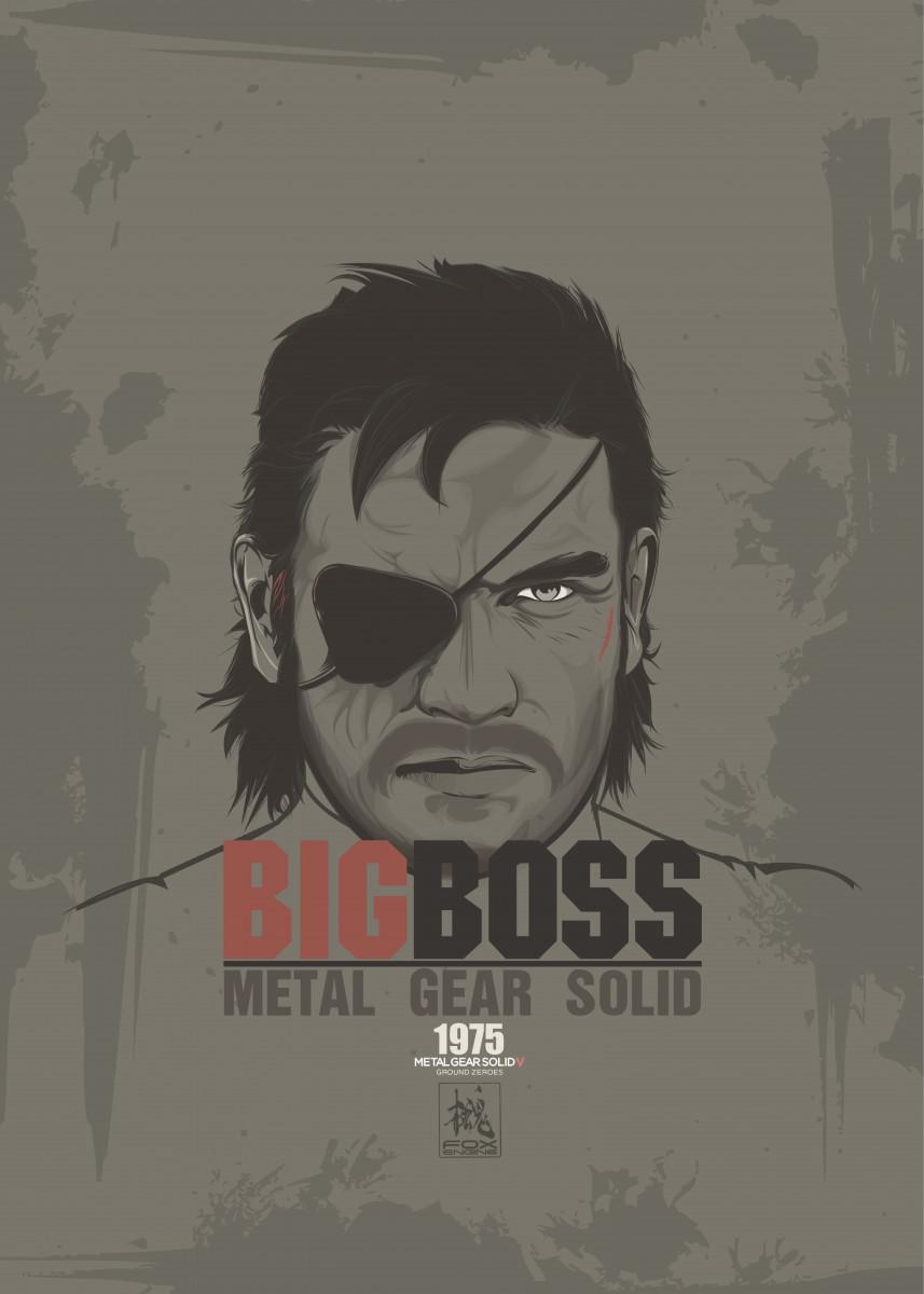 MGS Big Boss 148708