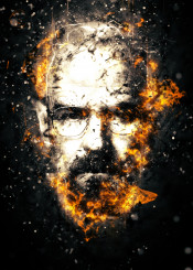 breakingbad illustration fury fire tvseries