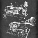 Gramophone - Patent #534,543 by E. Berliner - 1895