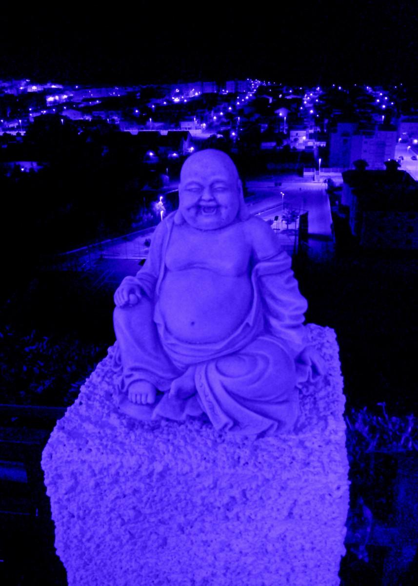 Blue Buddha and The Blue City