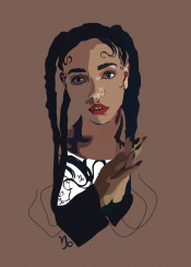 fka twigs capricorn brown hair culture singer song music beauty fame brit uk british style