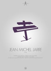 jean michel jarre keyboard piano electronic music minimalistic
