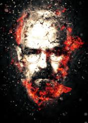 walterwhite breakingbad tvseries illustration furyred fury red