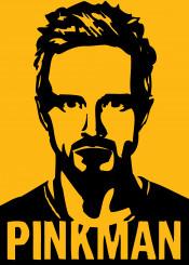 pinkman breakingbad tvseries illustration yellow movies