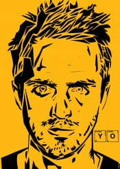 breakingbad tvseries yellow black pinkman yo illustration