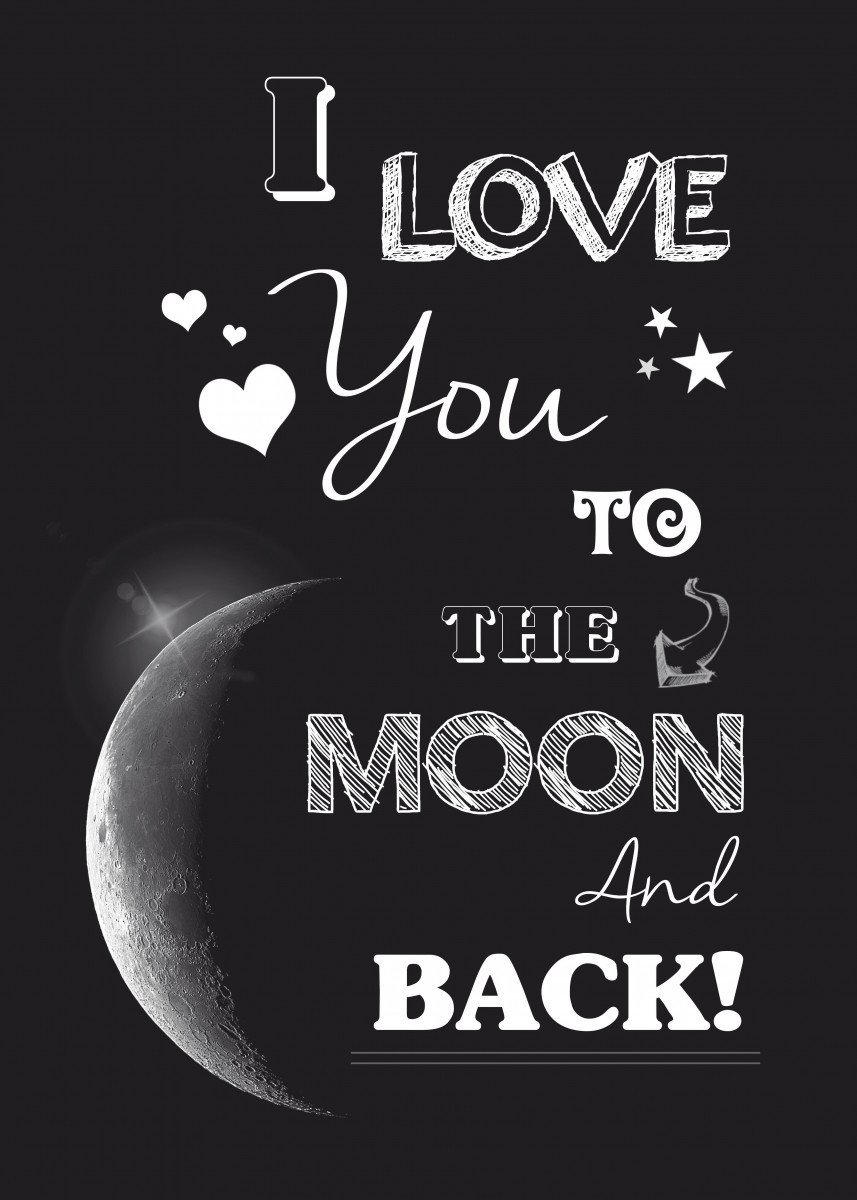 I love you to the moon and back - quote 153568
