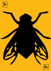 fly breakingbad yellow illustration