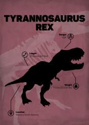 tyrammosaurus rex dinosaur jurassic world park skeletton silhouette